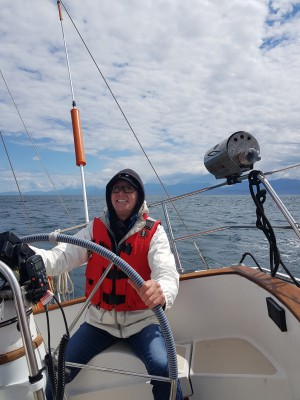 Sailing lessons with Starlight Sailing Adventures in Sooke, BC